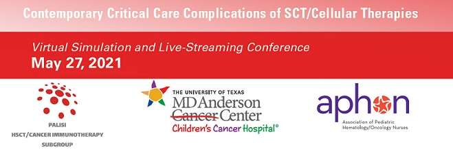 Contemporary Critical Care Complications of Stem Cell Transplant/Cellular Therapies-052721 Banner